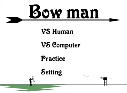 Bow Man game