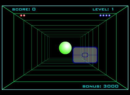 pong 3d